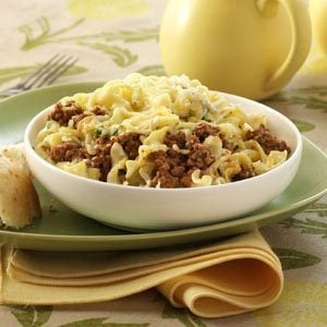 Ground Beef Noodle Bake Recipe