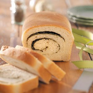 Swirled Herb Bread Recipe