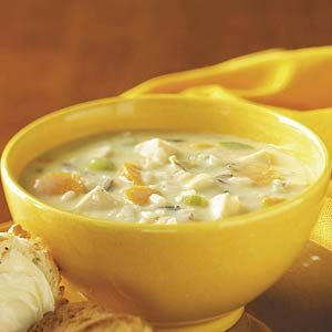 Chicken Wild Rice Chowder Recipe