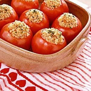 Stuffed Baked Tomatoes Recipe