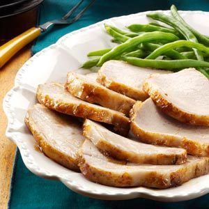 Light Glazed Pork Roast