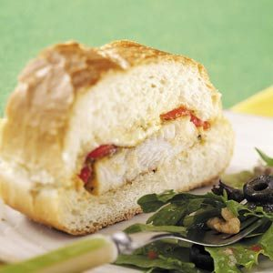 Fish Sandwich Loaf Recipe