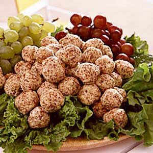 Cheese/Grape Appetizers Recipe