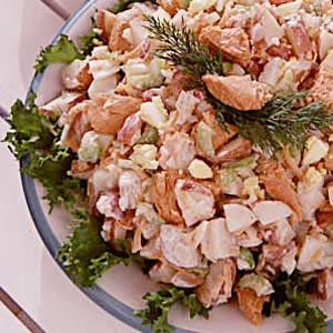 Easy Salmon Potato Salad Recipe