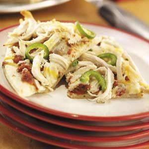 Jalapeno Chicken Pizza Recipe