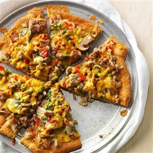 Sausage and Egg Pizza Recipe