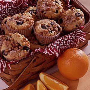 Blueberry-Orange Muffins Recipe