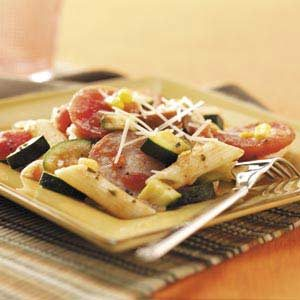 Smoked Sausage with Penne and Veggies Recipe