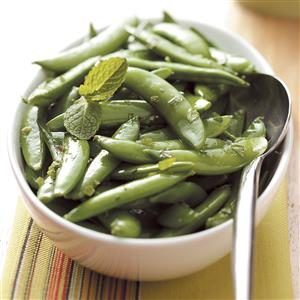 Minty Sugar Snap Peas Recipe