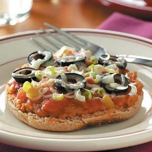 Little Mexican Pizzas Recipe