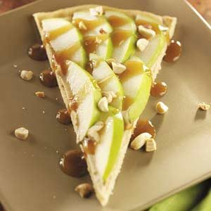 Caramel Apple Dessert Pizza Recipe