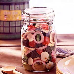 Homemade Marinated Vegetables Recipe