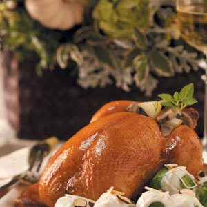Stuffed Game Hens Recipe