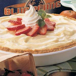 Cheesecake Strawberry Pie Recipe