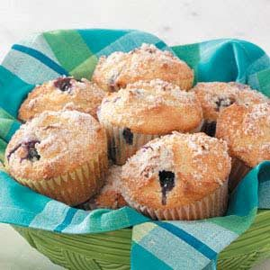 Blueberry Lemon Muffins Recipe