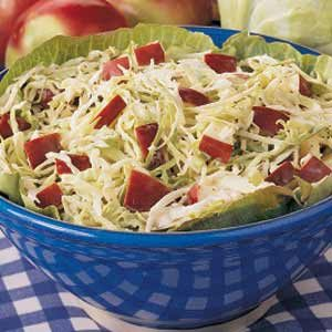 Cabbage Apple Slaw Recipe