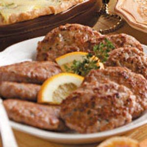 Sage Breakfast Patties Recipe