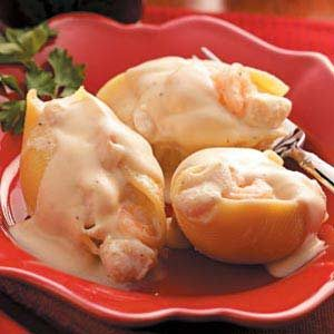 Seafood-Stuffed Shells Recipe
