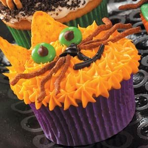 Scaredy-Cat Cupcakes Recipe