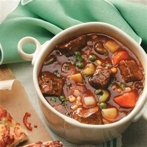 Stephanie's Slow Cooker Stew Recipe