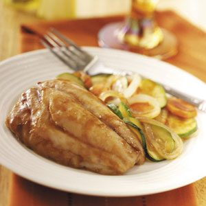 Red Snapper with Veggies Recipe