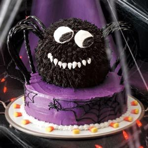 Spooky Spider Cake Recipe