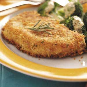 Crusted Pork Chops Recipe