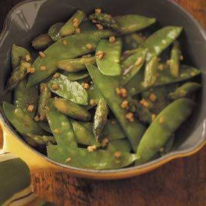 Snow Pea Asparagus Stir-Fry Recipe