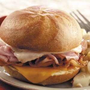 Hot Ham 'n' Cheese Sandwiches Recipe