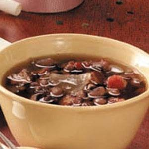 Flavorful Black-Eyed Pea Soup Recipe
