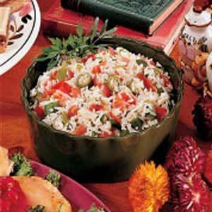 Okra Pilaf Recipe photo by Taste of Home