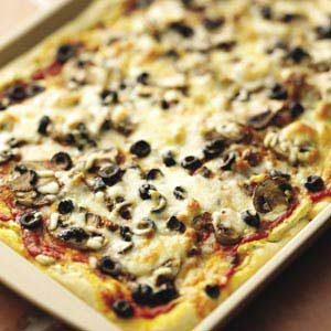 Pesto Sausage Pizza Makeover Recipe