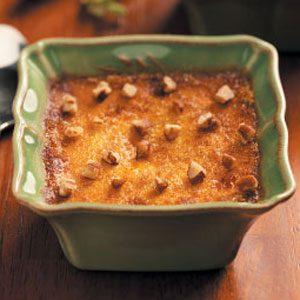 Pumpkin Praline Creme Brulee Recipe