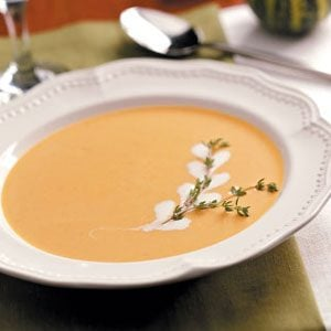 Gingered Pumpkin Bisque Recipe