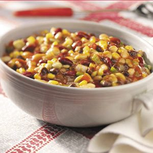 Slow-Cooked Bean Medley Recipe