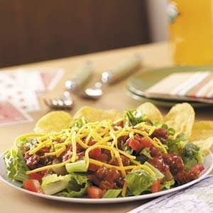 Taco Salad for Two Recipe
