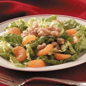 Mandarin-Walnut Lettuce Salad Recipe