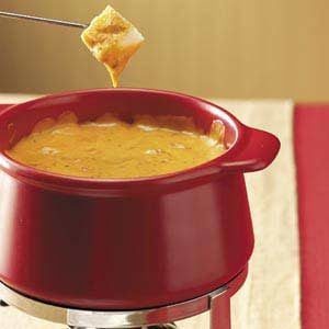Cheddar Cheese Pizza Fondue Recipe