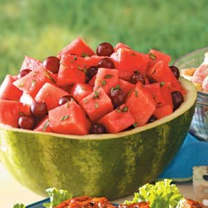 Watermelon Grape Tarragon Salad Recipe