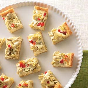 Artichoke Crescent Appetizers Recipe