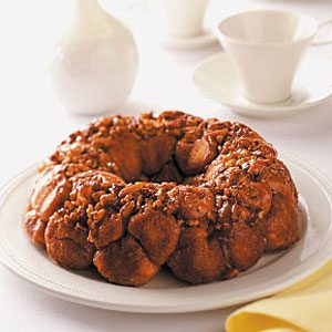 Pull-Apart Sticky Bun Ring Recipe