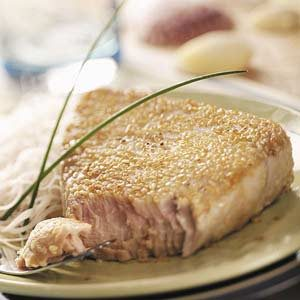 Sesame Tuna Steaks Recipe