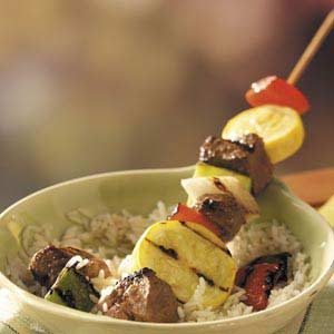 Sizzling Beef Kabobs