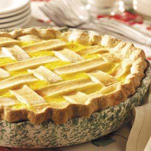 Lattice Corn Pie Recipe