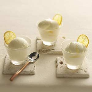 Makeover Lemon Custard Ice Cream Recipe