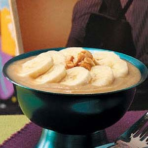 Peanut Butter 'n' Banana Pudding Recipe