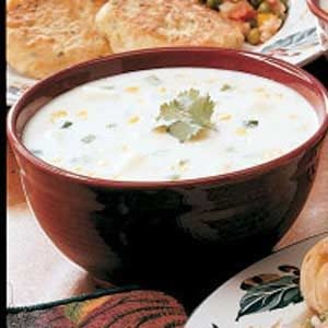 Texas Corn Chowder Recipe