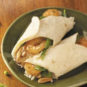 Shrimp 'n' Rice Wraps Recipe