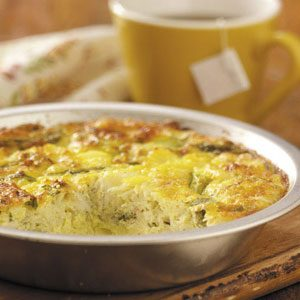 Crustless Crab Quiche Recipe