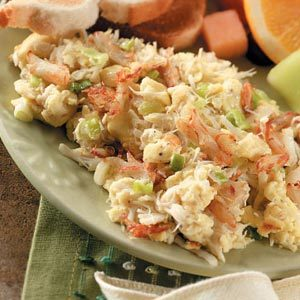 Crabmeat Scramble Recipe